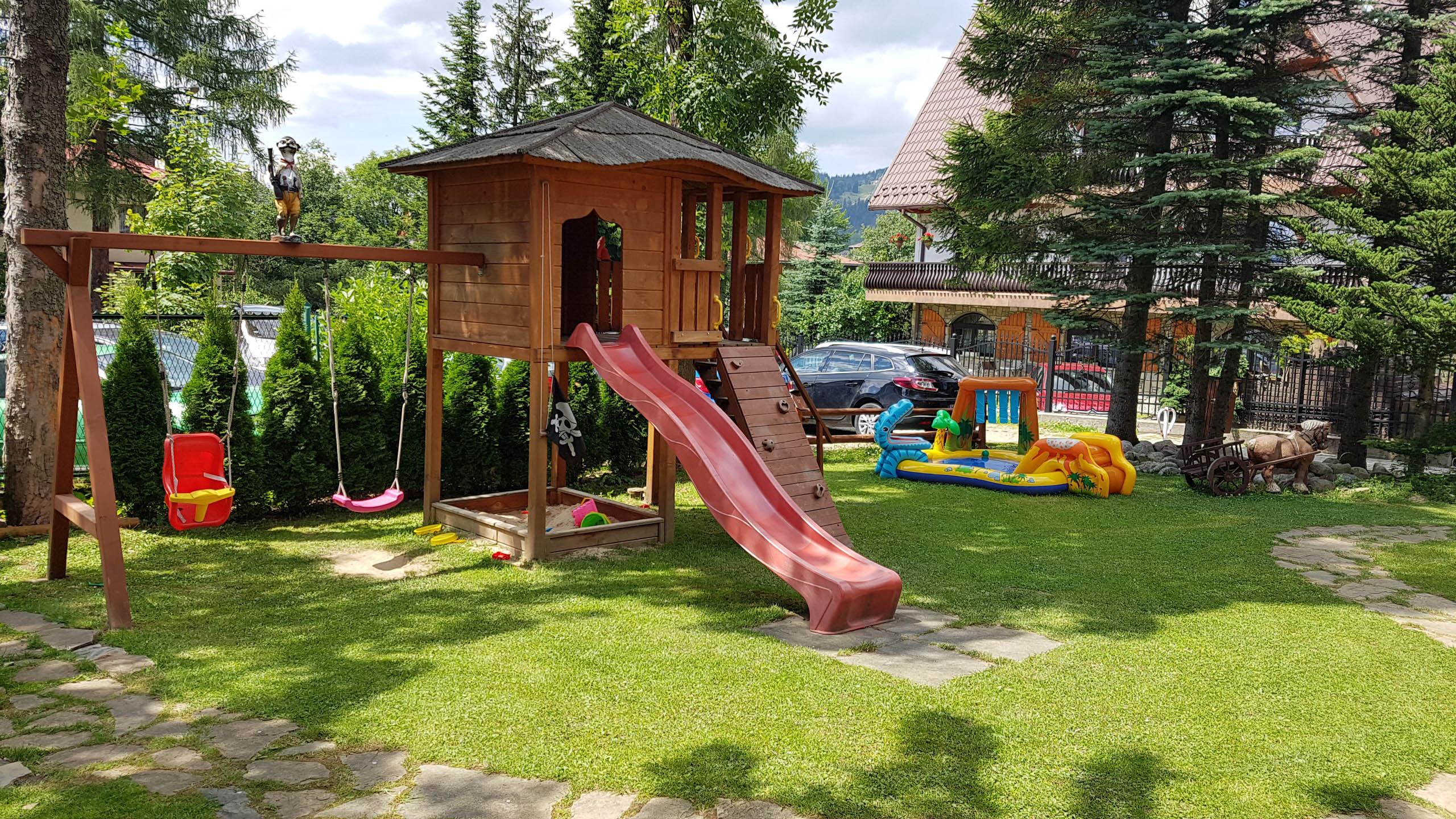 Ogród – Aparthotel Delta Park & Garden