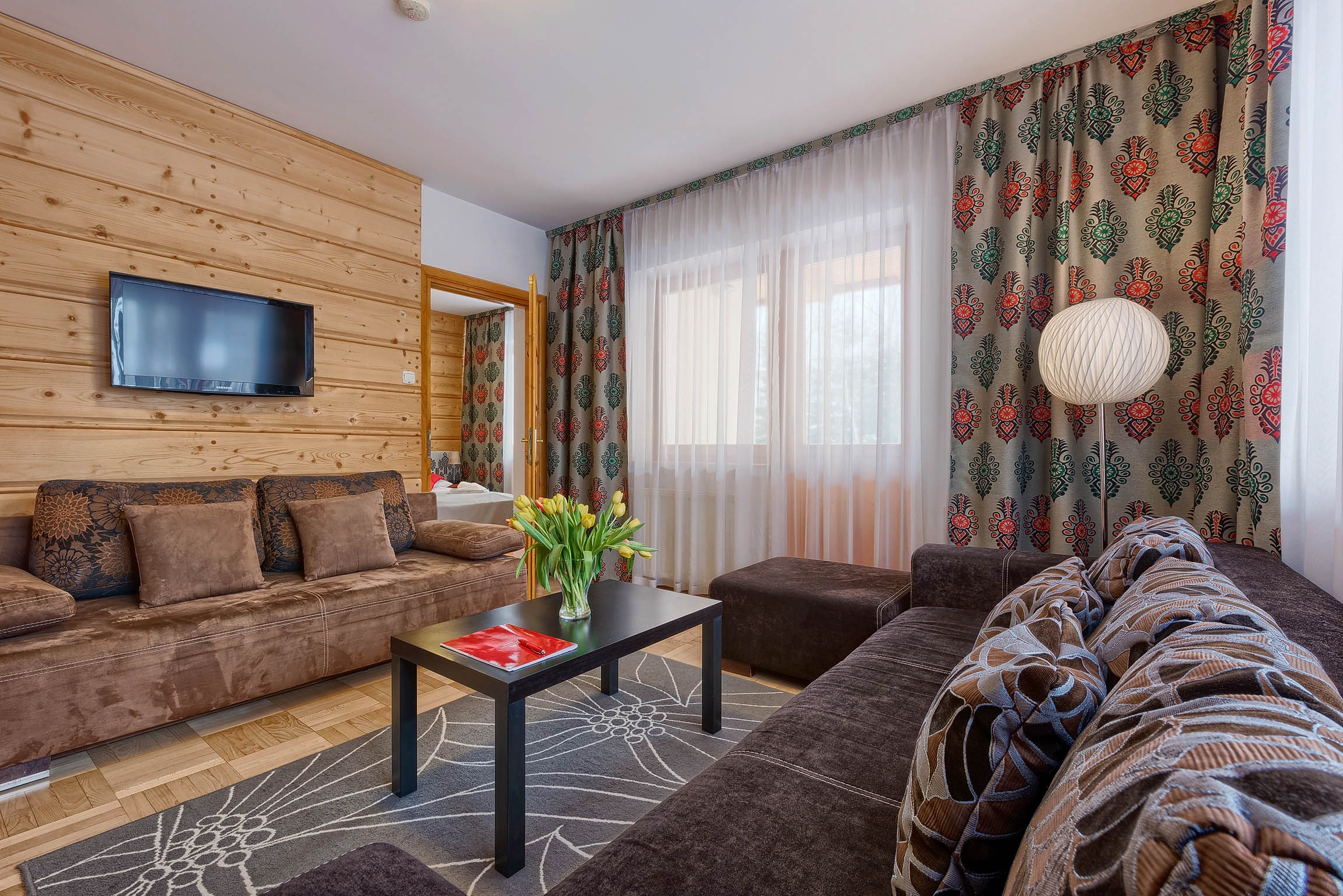 Apartament Grand - Aparthotel Delta Center – budynek Garden