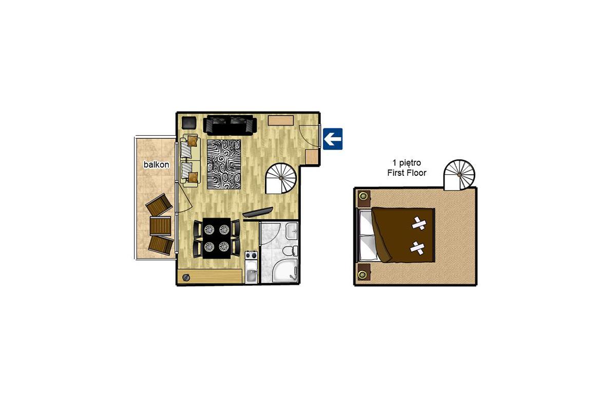 Appartement Deluxe 14