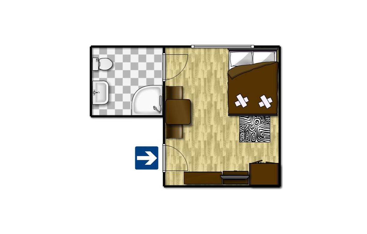 Standard egyágyas szoba 4