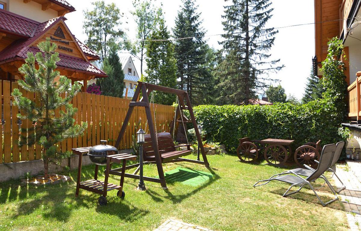 Ogród - Aparthotel Delta Park & Garden