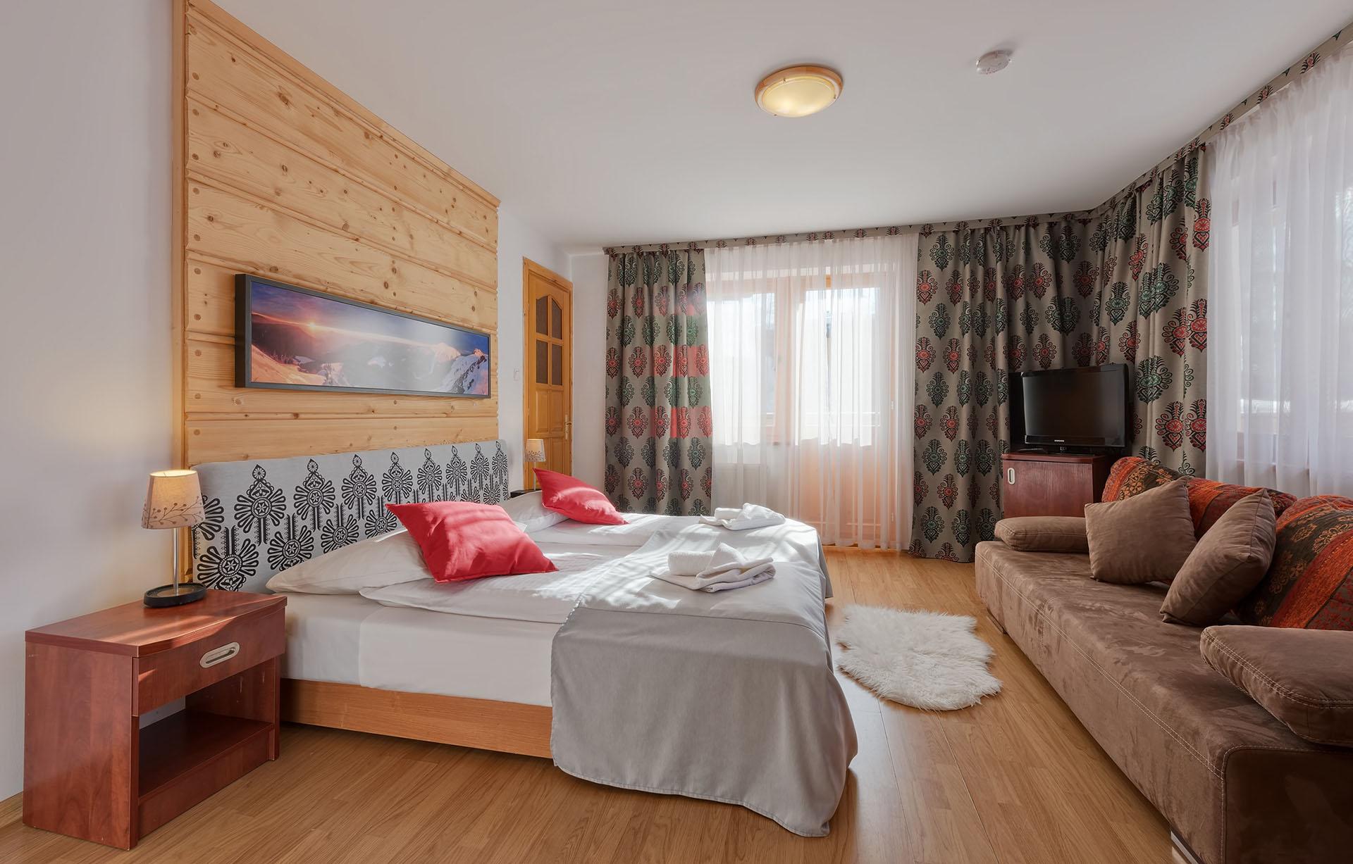 Pokój Komfort - Aparthotel Delta Garden